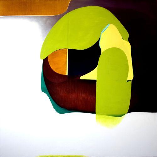 1_15. Oli i acrílic sobre tela. 180x180 cm, 2015