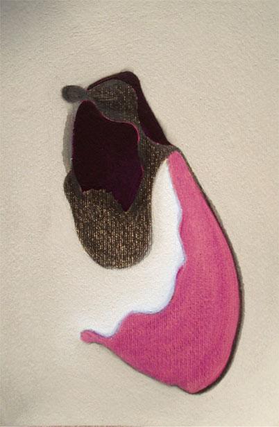 XIX. Oli,grafit i pastel sobre paper. 24x16 cm. 2013
