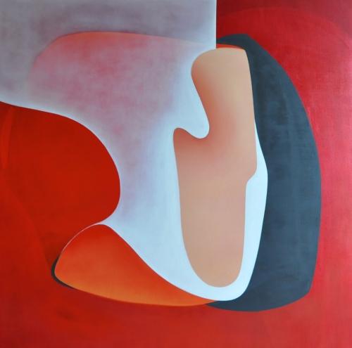 20_14. Oli i acrílic sobre tela. 150x150 cm. 2014