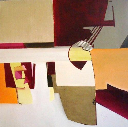22009. Oli sobre tela. 130 x130 cm.2009
