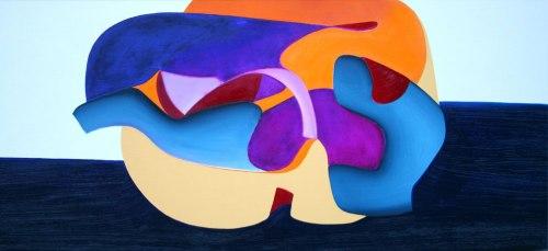 32012. Oli sobre tela. 60x130 cm. 2012