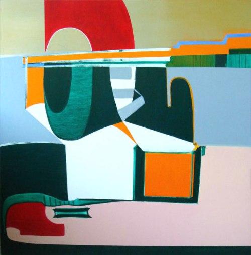 42009. Oli sobre tela. 150 x150 cm.2009