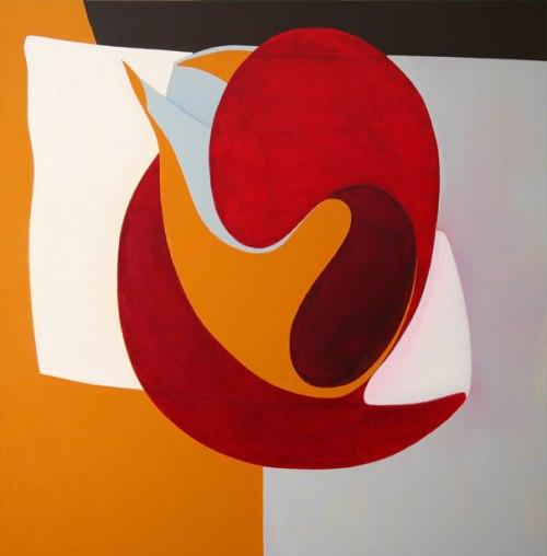 42012. Oli i acrílic sobre tela. 100 x100 cm. 2012