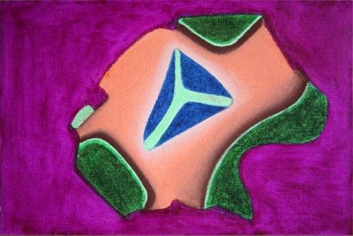 X.pastel on paper.16x24 cm. 2012