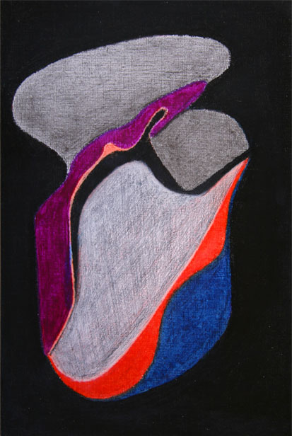 XIII.pastel on paper.24x16 cm. 2012