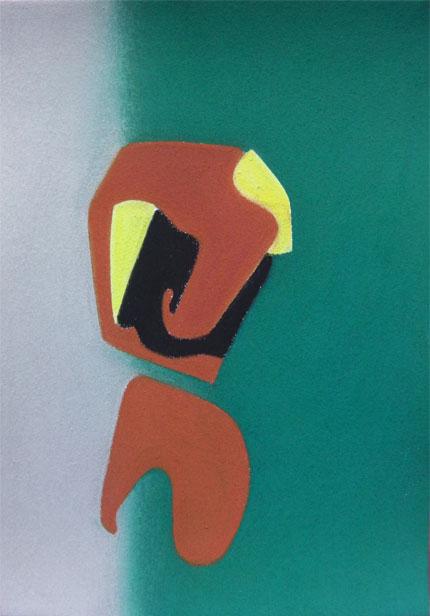 XXIII. Pastel sobre paper. 29'5x21 cm. 2014
